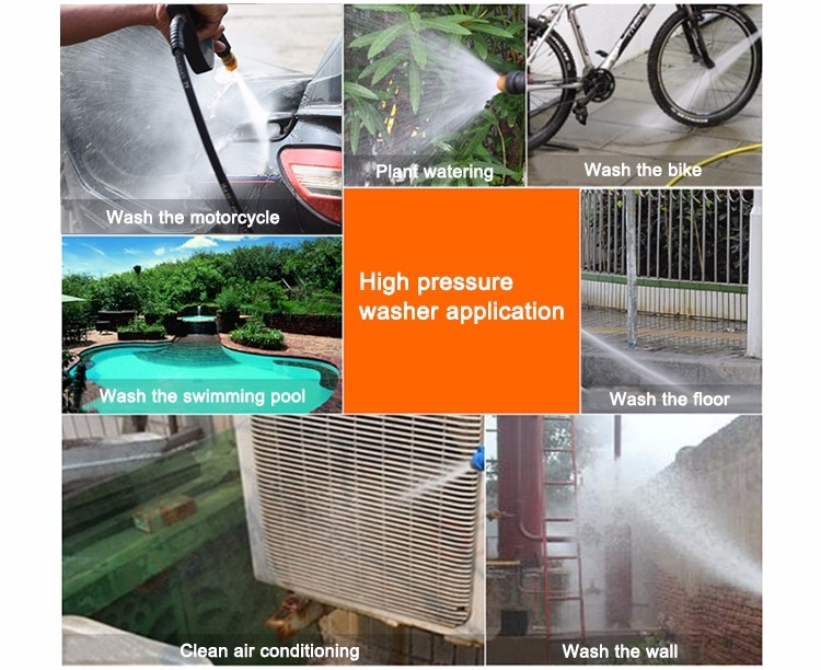 Applications of Best Pressure Washer-C66