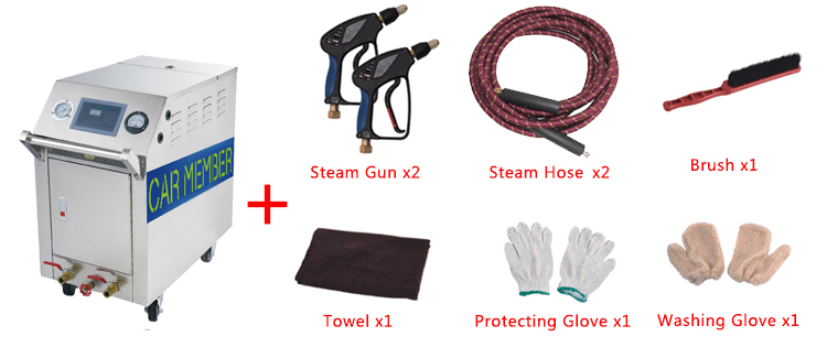 Accessories of Steam Wash Car with C600