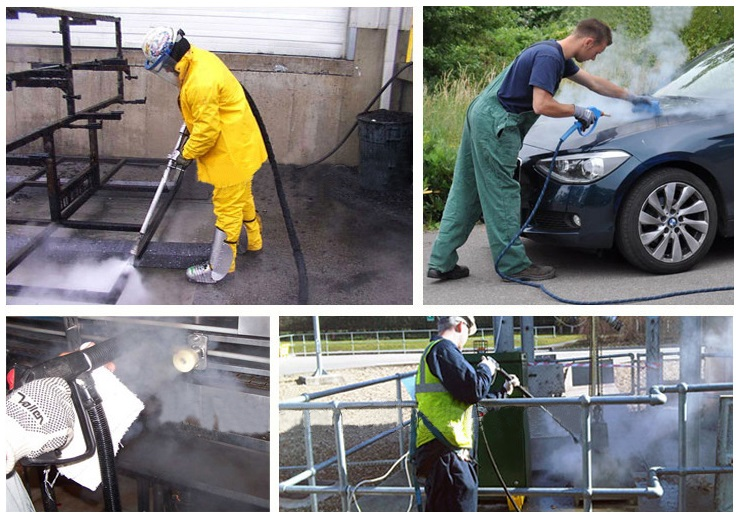 Cleaning of Industrial Steam Generator
