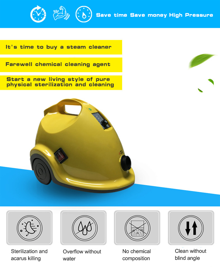 Description of Floor Steam Cleaner