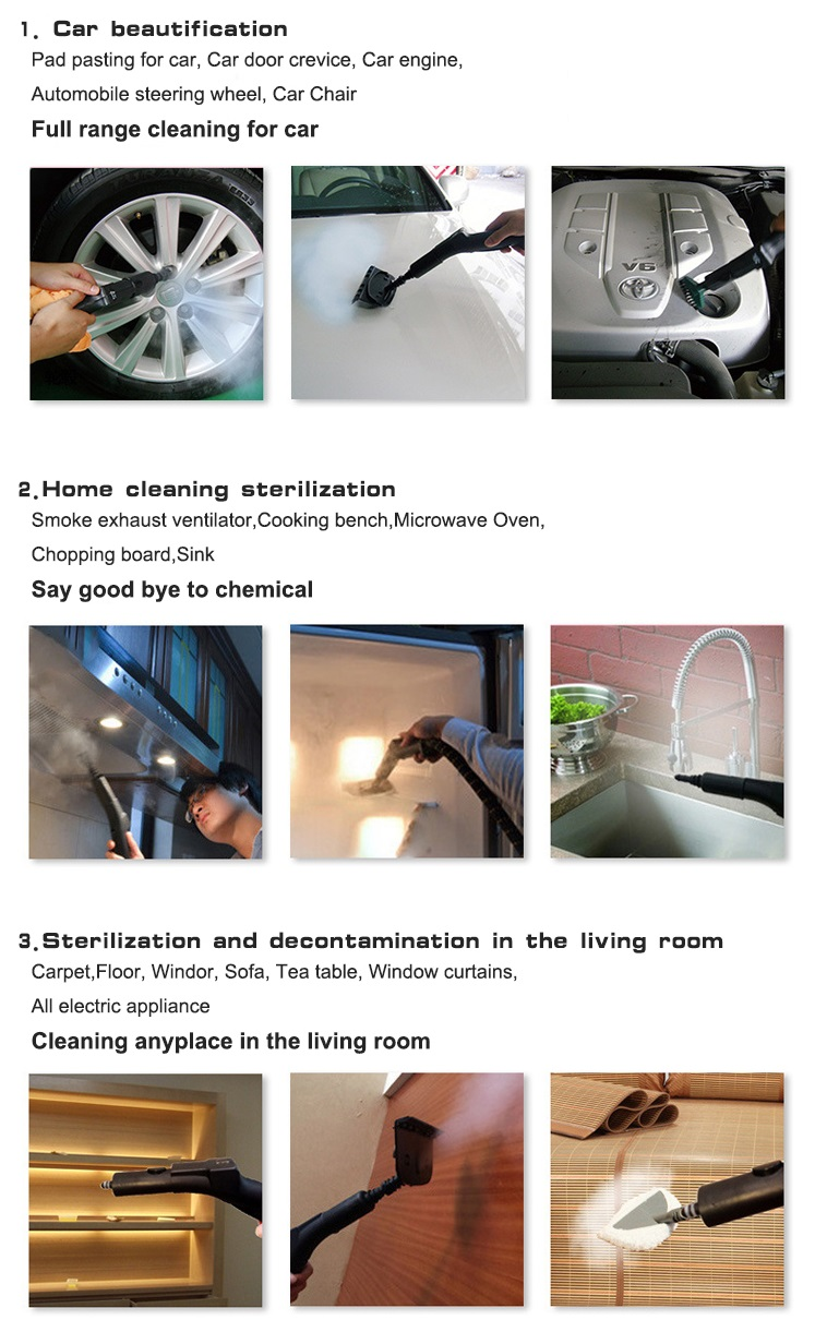 Functions of Floor Steam Cleaner