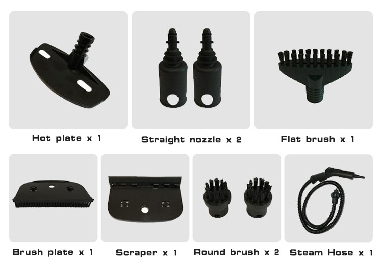 Accessories of Floor Steam Cleaner