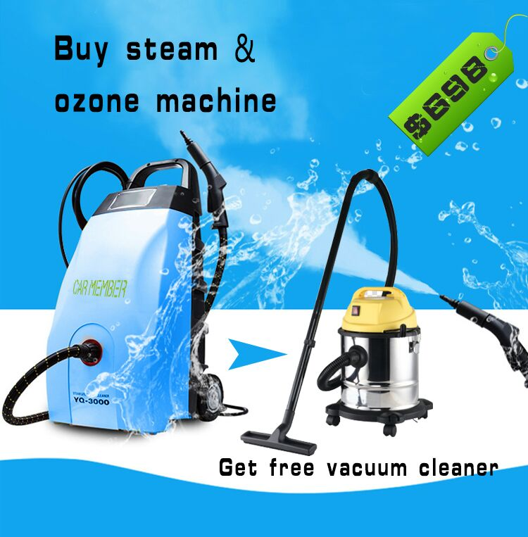Steam and Ozone Cleaning Machine