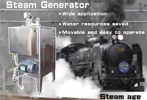 Have you ever seen such a wonderful steam generator ?